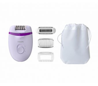 Philips Satinelle Essential Met Opti-light voor de benen, Compacte epilator met snoer