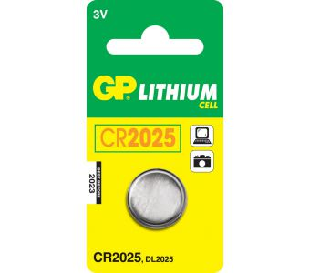 GP Batteries Lithium Cell CR2025 Wegwerpbatterij