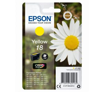 Epson Daisy Claria Home Ink-reeks Yellow