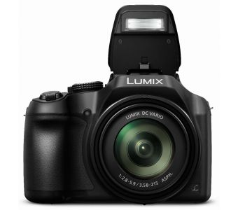 "Panasonic Lumix FZ82 Bridge fototoestel 18,1 MP MOS 4896 x 3672 Pixels 1/2.3"" Zwart"