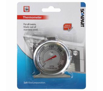 SCANPART 1100000006 ovenonderdeel & -accessoire Thermometer Roestvrijstaal