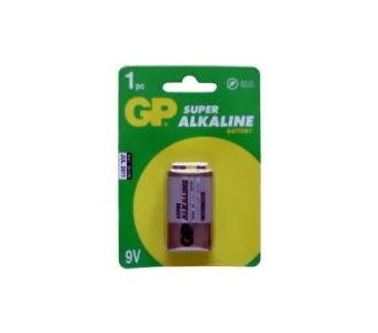 GP Batteries Super Alkaline 9V Wegwerpbatterij