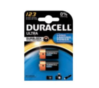 Duracell Ultra 123 BG2 Batterie à usage unique CR123A Lithium