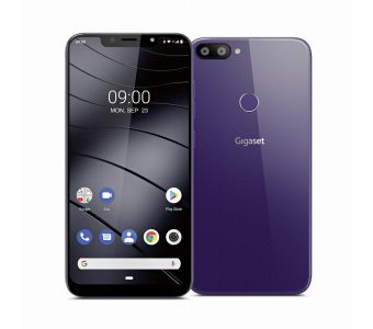 """Gigaset GS195 15,7 cm (6.18"""") Dual SIM Android 9.0 4G 32 GB Paars"""