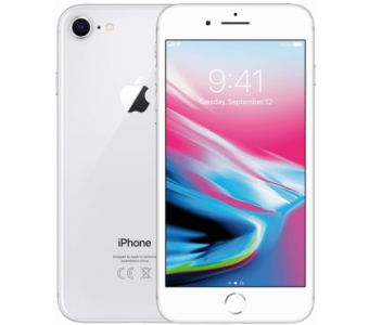 Forza Refurbished Apple iPhone 8 64GB zilver - A grade - iOs updates