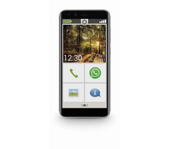 "Emporia Smart 3 Mini 12,7 cm (5"") 2 GB 16 GB Single SIM 4G Micro-USB Zwart Android 9.0 2500 mAh"