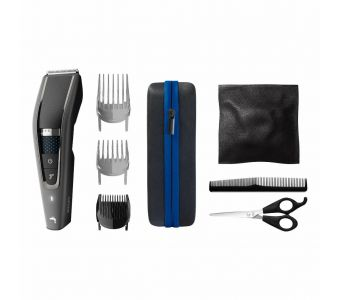Philips HAIRCLIPPER Series 7000 Tondeuse à cheveux lavable, technologie Trim-n-Flow PRO