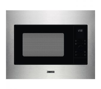 Zanussi ZMSN4DX micro-onde Intégré (placement) Micro-ondes grill 900 W Acier inoxydable