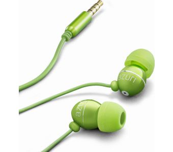 Azuri AZIEPHFGRN hoofdtelefoon/headset In-ear 3,5mm-connector Groen
